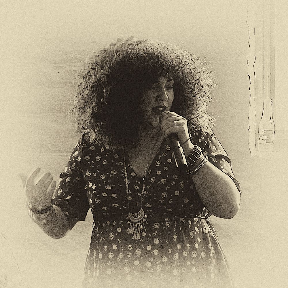 Photo in Portrait #vocalist #performer #afro