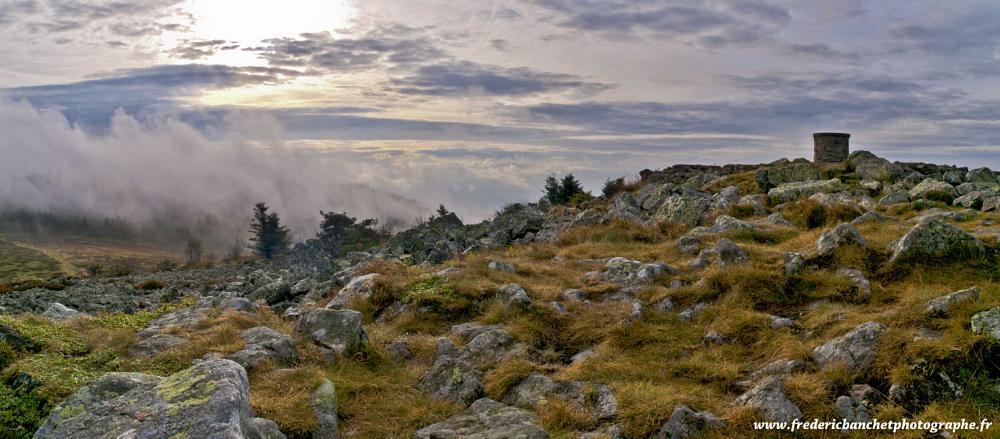 Photo in Landscape #landscape #paysage #panorama #nuages #clouds #pilat #rhonealpes #loire