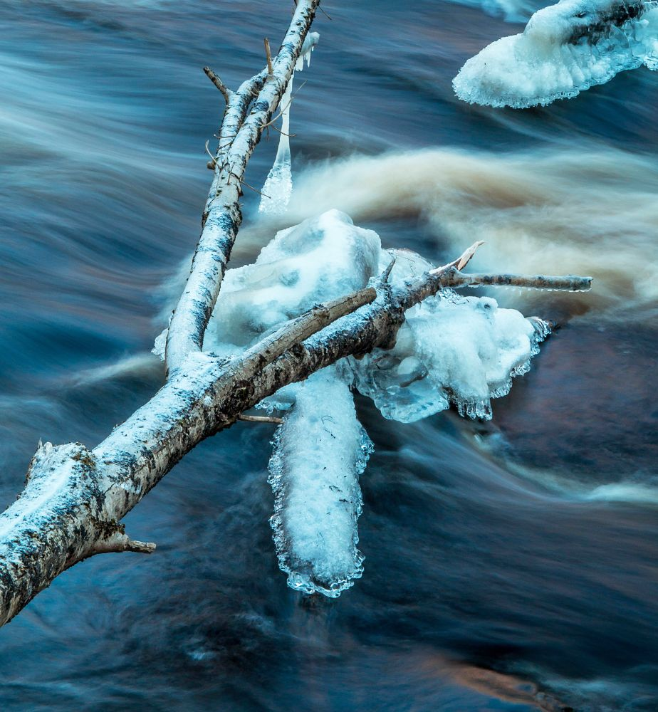 Photo in Nature #winter #river #ice #nature