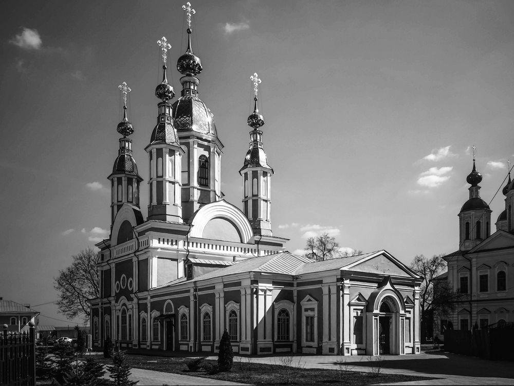 Photo in Black and White #russia #b&w #church