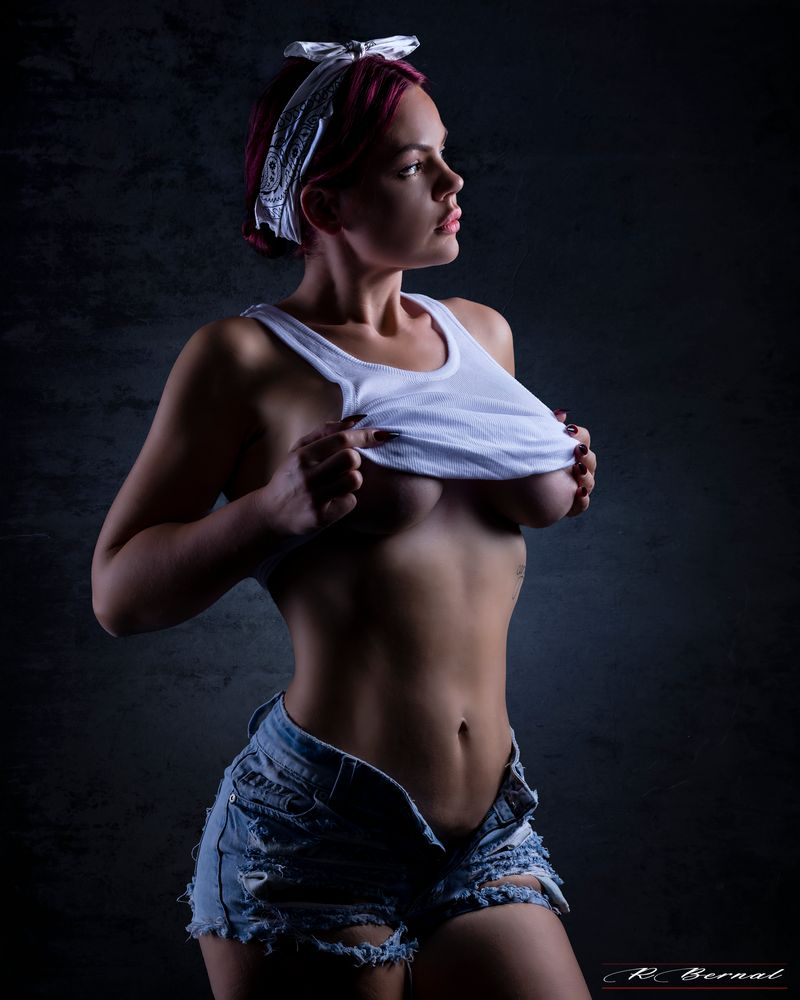 Photo in People #boudoir #studio #nude #art #pelirroja #hairred #foto