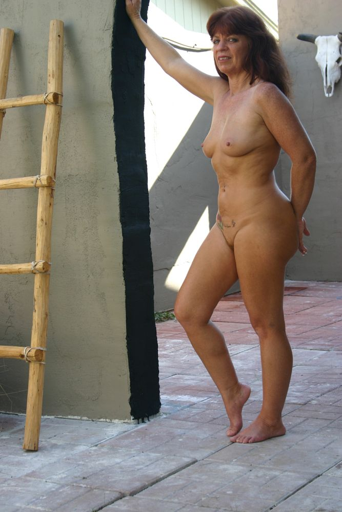 Photo in Nude #mature #red head #breasts #nipples #figure #posing