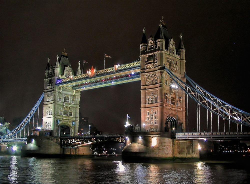 Photo in Random #in #tower #the #bridge #night