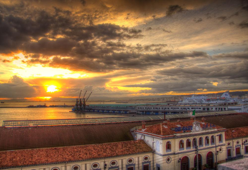 Photo in Random #city #algeria #clouds #sunrise #hdr #building #buildings #alger #algerie #odl