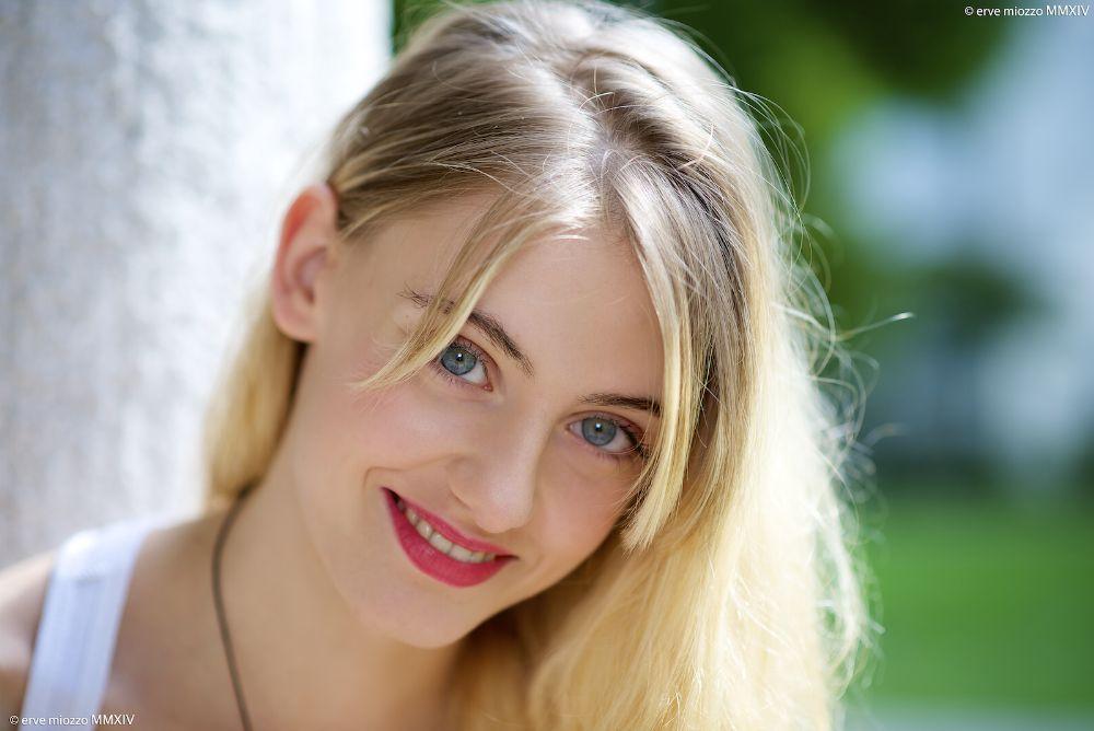 Photo in Portrait #portrait #girl #eye #hair