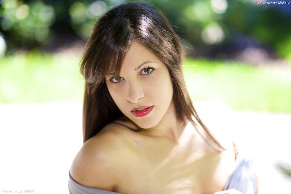 Photo in Portrait #portrait #girl #woman #hair #eye
