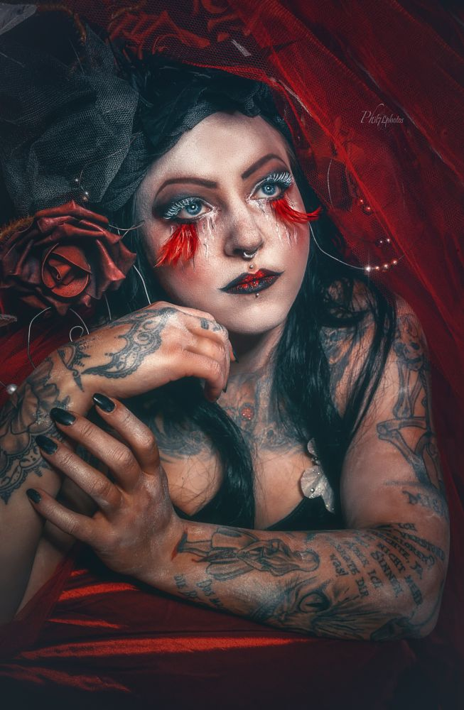 Photo in Portrait #model #pretty #beauty #make-up #female #girl #photo #photography #photographer #light #studio #canon #adobe #phil7lphotos