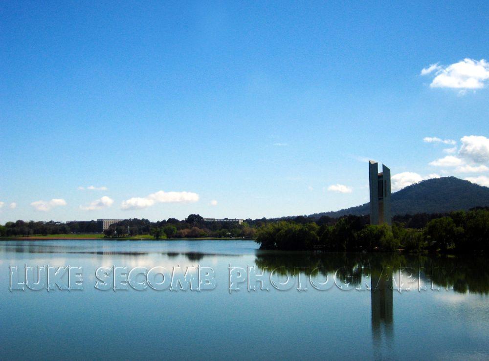 Photo in Landscape #national carillon #carillon #act #canberra #australia