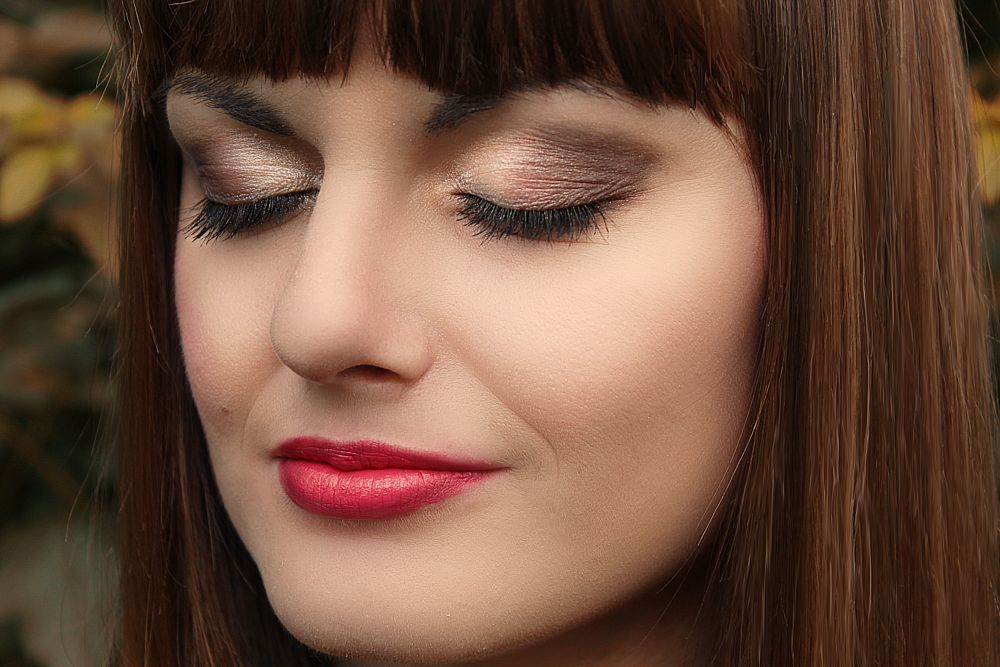 Photo in Portrait #makeup #girl #beauty