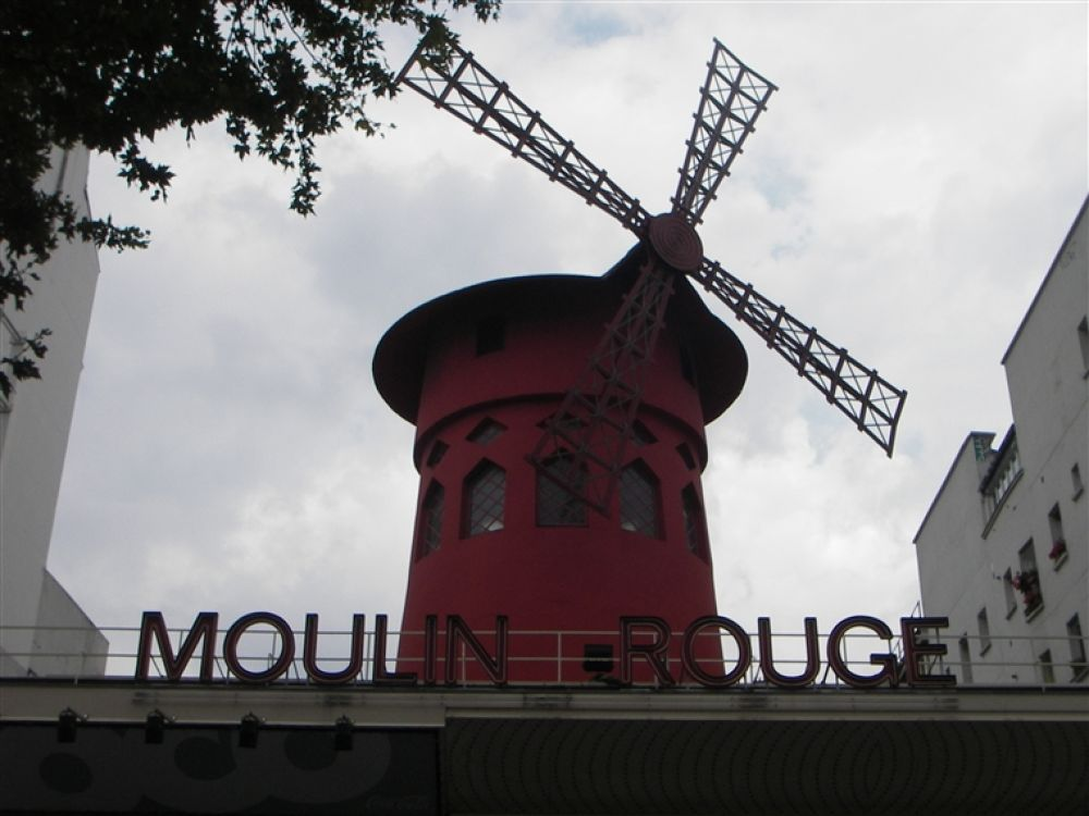 Photo in Random #paris #moulin #rouge