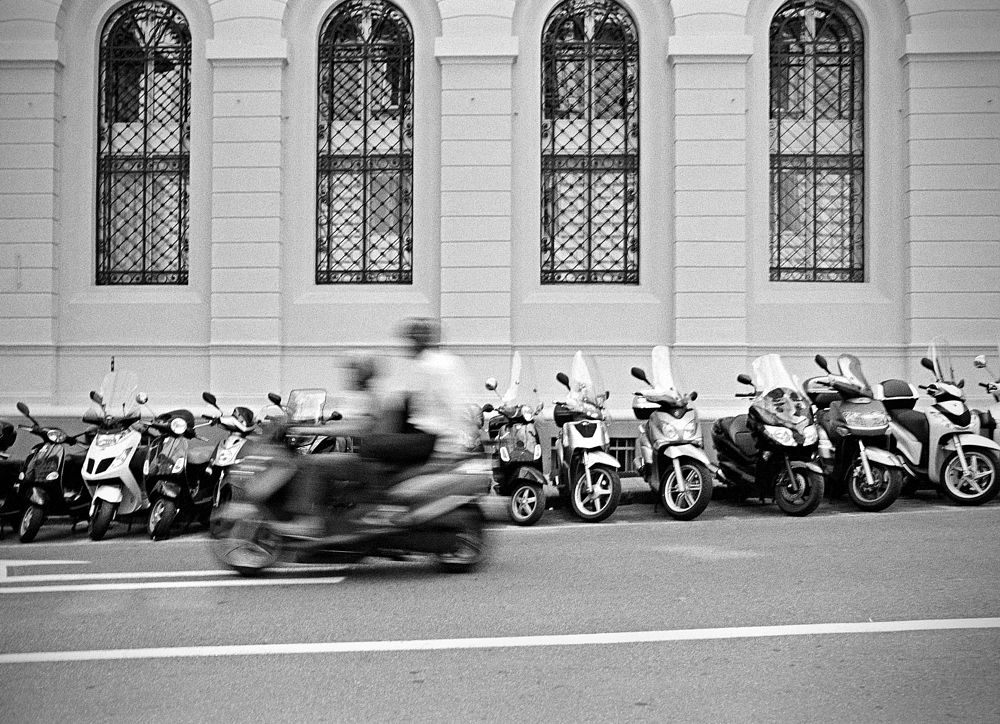 Photo in Random #film  black& white & tri x