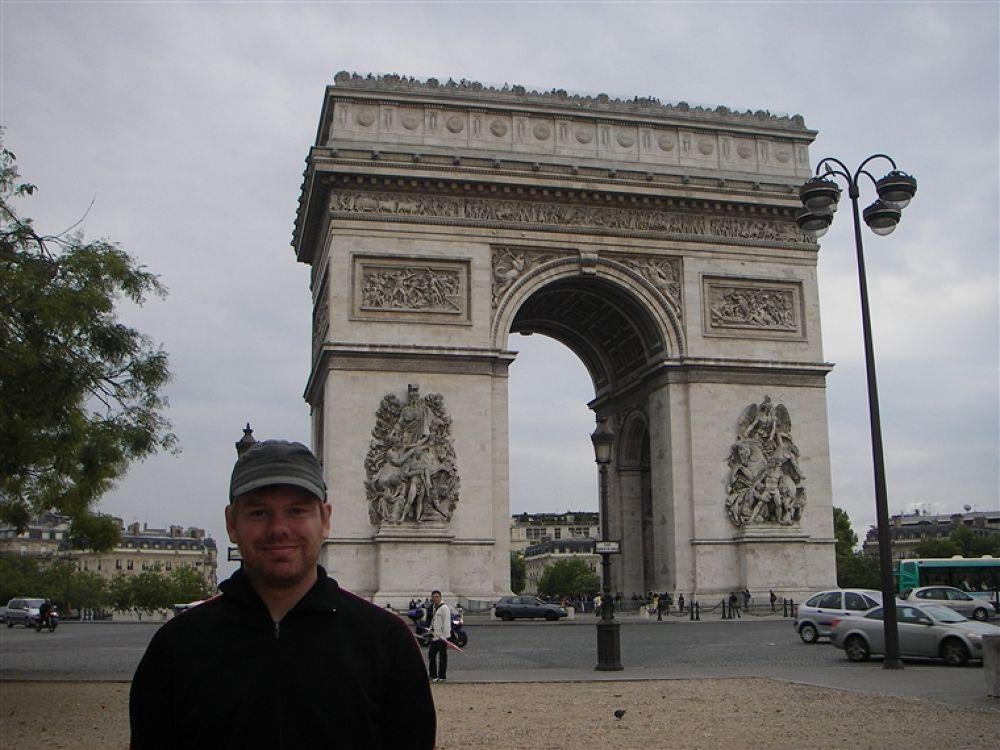 Photo in Random #paris #triumfbågen
