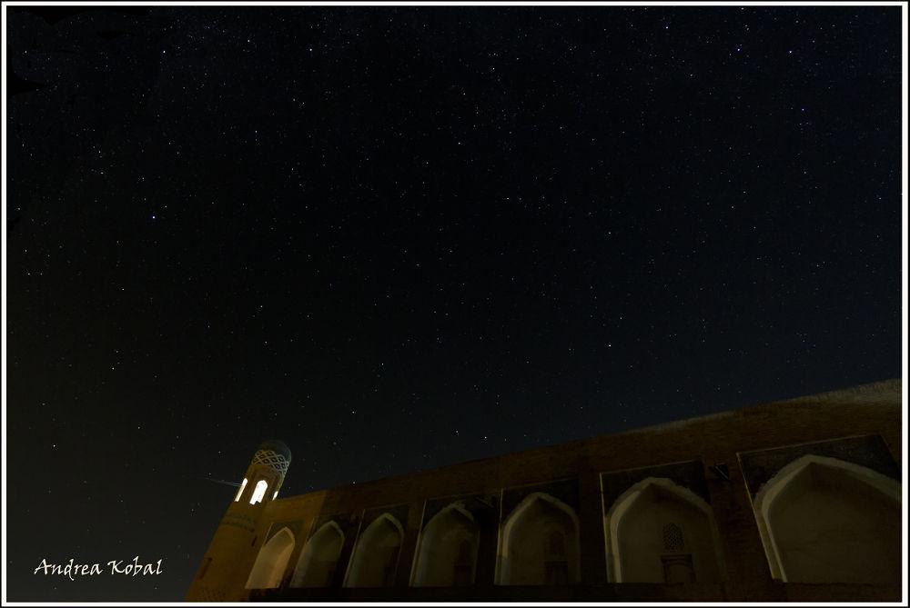 Photo in Travel #khiva #night #star #canon #wide angle #sky