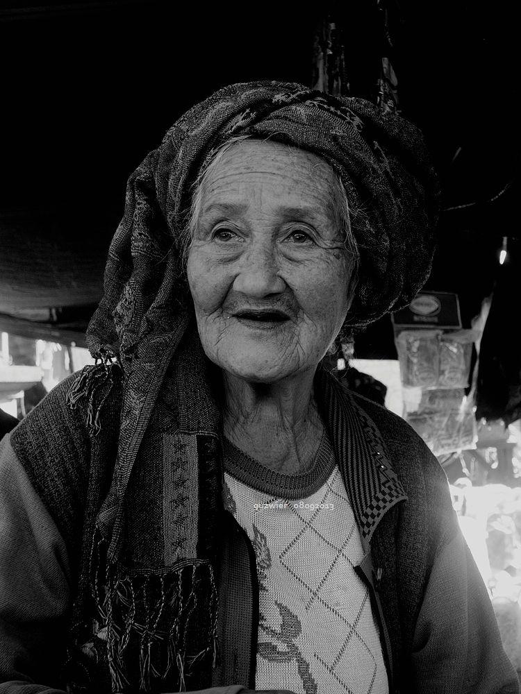Photo in Portrait #grandma #portrait #blackandwhite #nikon