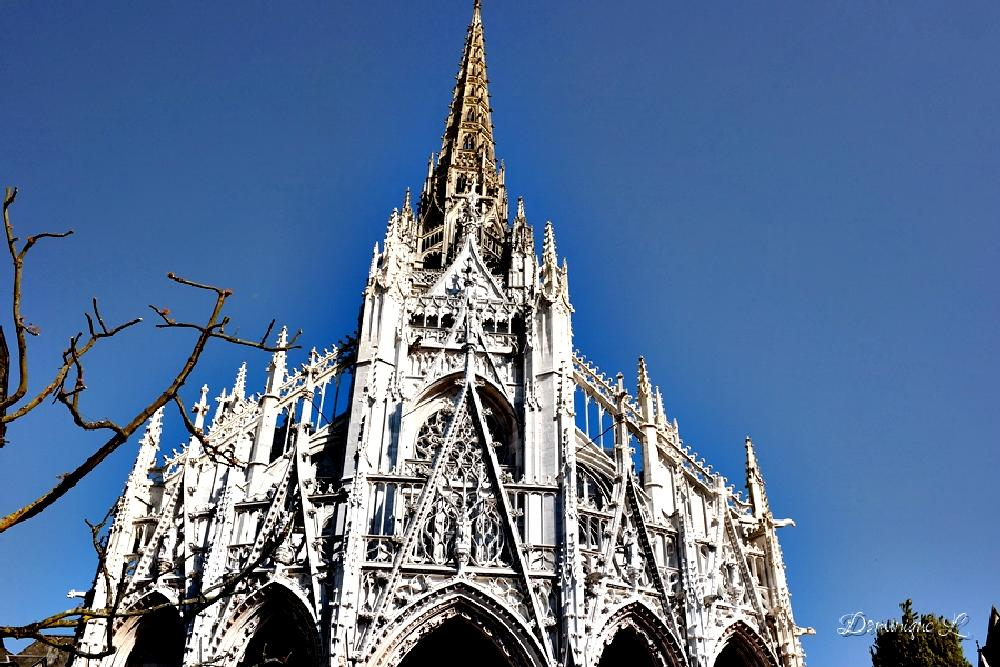 Photo in Architecture #church #rouen #normandy #france