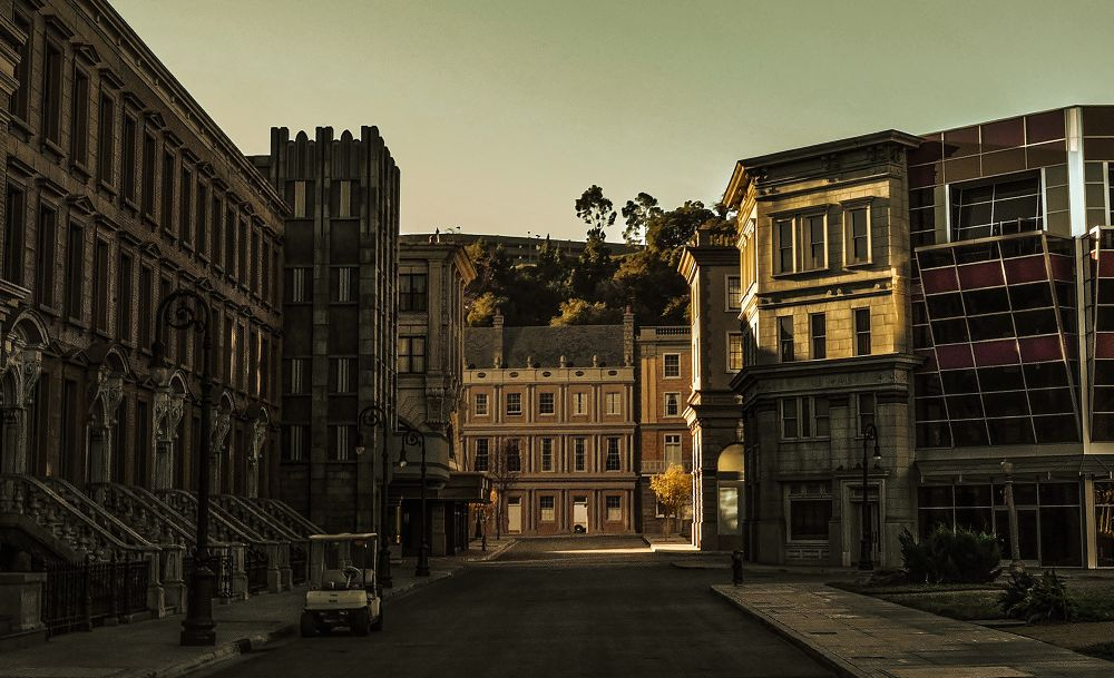 Photo in Architecture #architecture #place #travel #street #alley #building