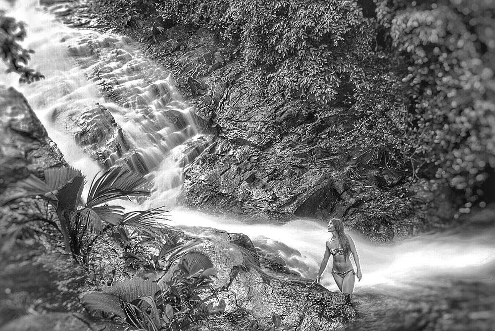 Photo in Random #waterfall #jungle #nature