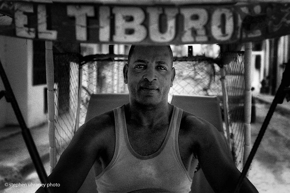 Photo in Street Photography #bike #taxi #havana  cuba #analog #film #nikon #street photography #black and white