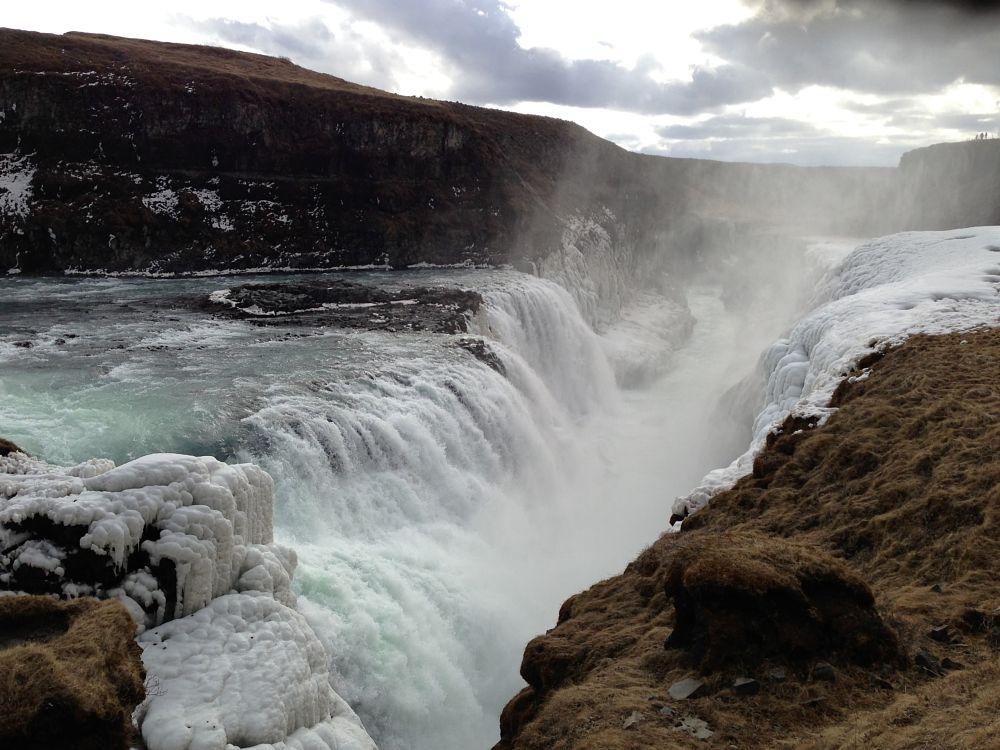 Photo in Landscape #gullfoss #waterfall #iceland #water