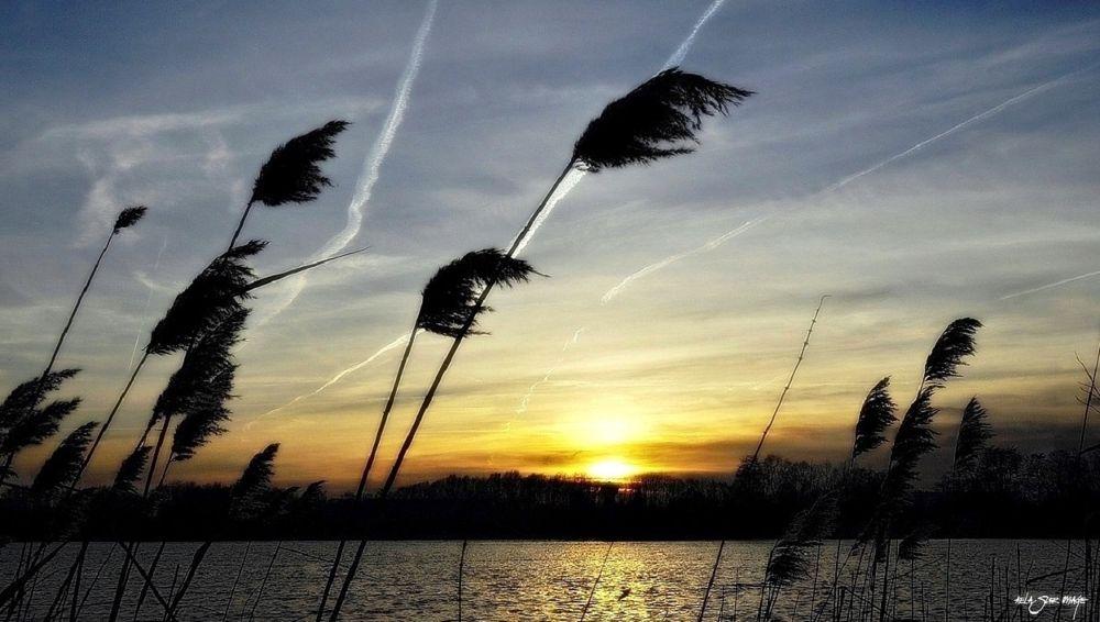 Photo in Landscape #sunset #soleil #eau #ciel