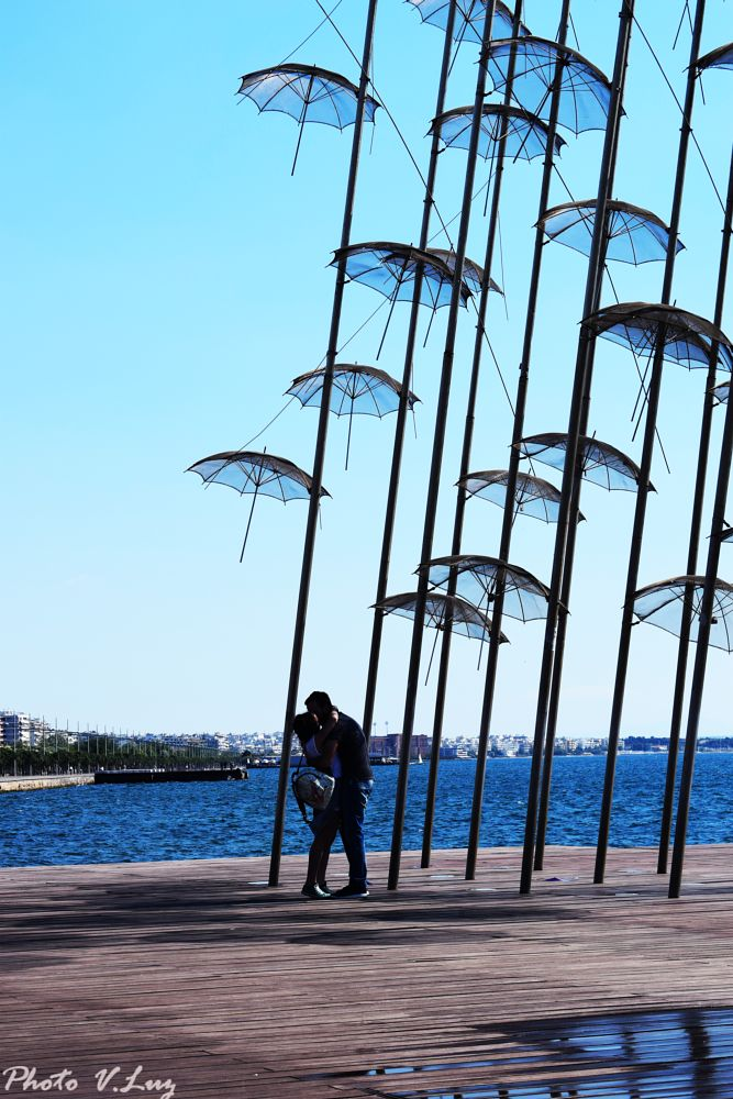 Photo in Landscape #people #thessaloniki #greece #love #air #sea #blue #erotic