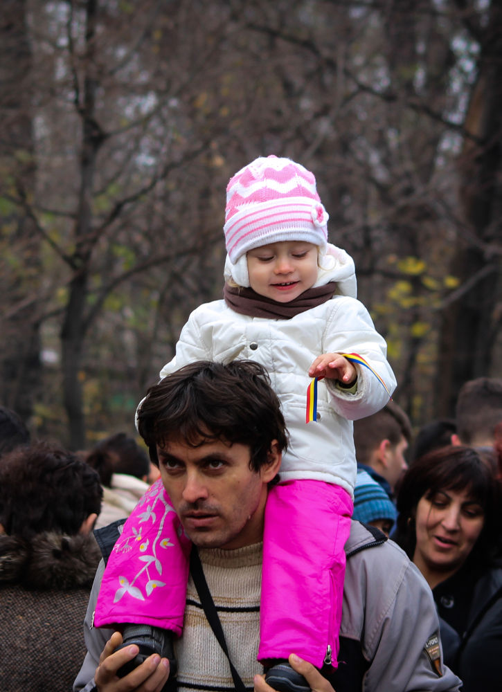 Photo in Portrait #portrait #child #contrast #pure #innocence #father #family #smile