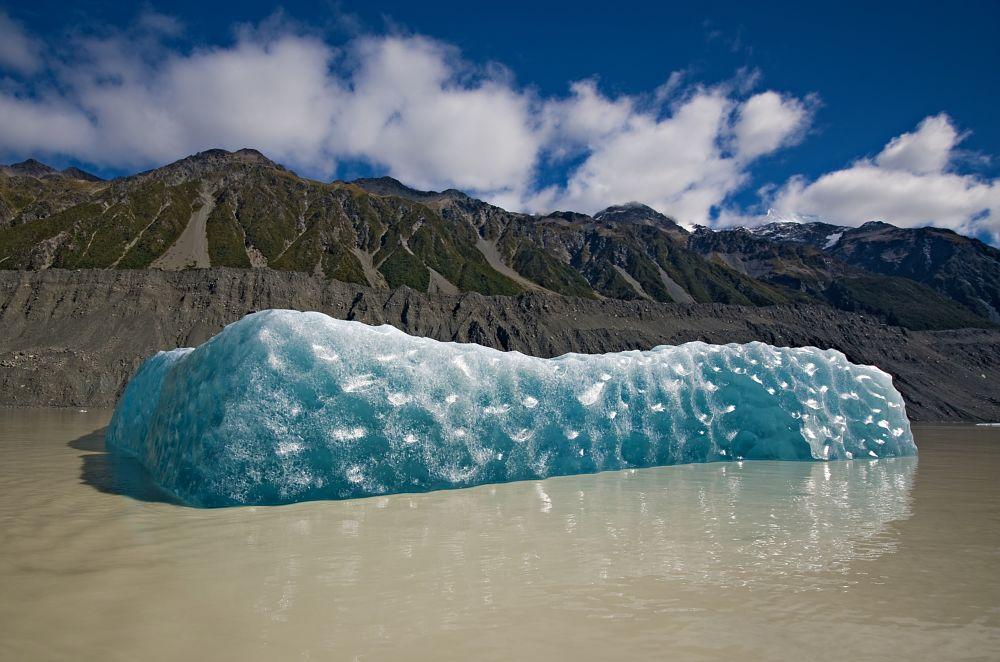 Photo in Landscape #iceberg #glacier #glacier lake #tasman glacier lake #new zealand