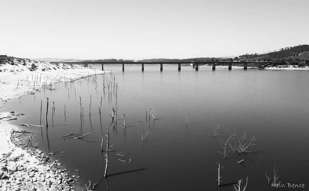 Photo in Aerial #south africa #theewaterskloof dam #franschoek #dji #dji mavic pro #dam #water #black and white