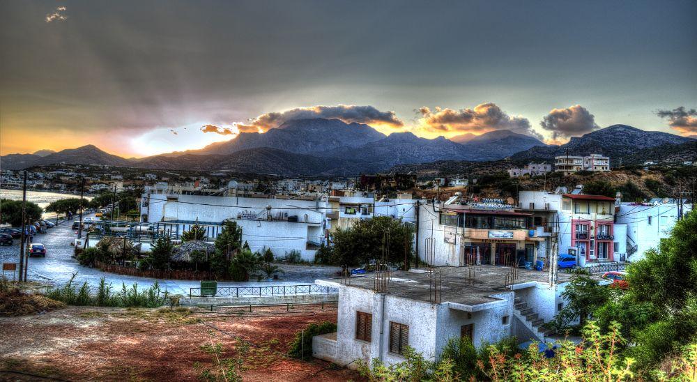 Photo in Landscape #makrigialos #crete #greece