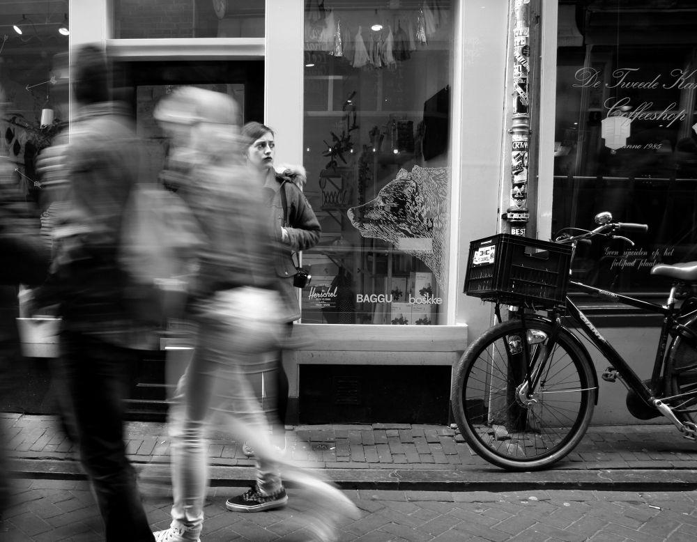 Photo in Street Photography #movement #peolple #street #amsterdam