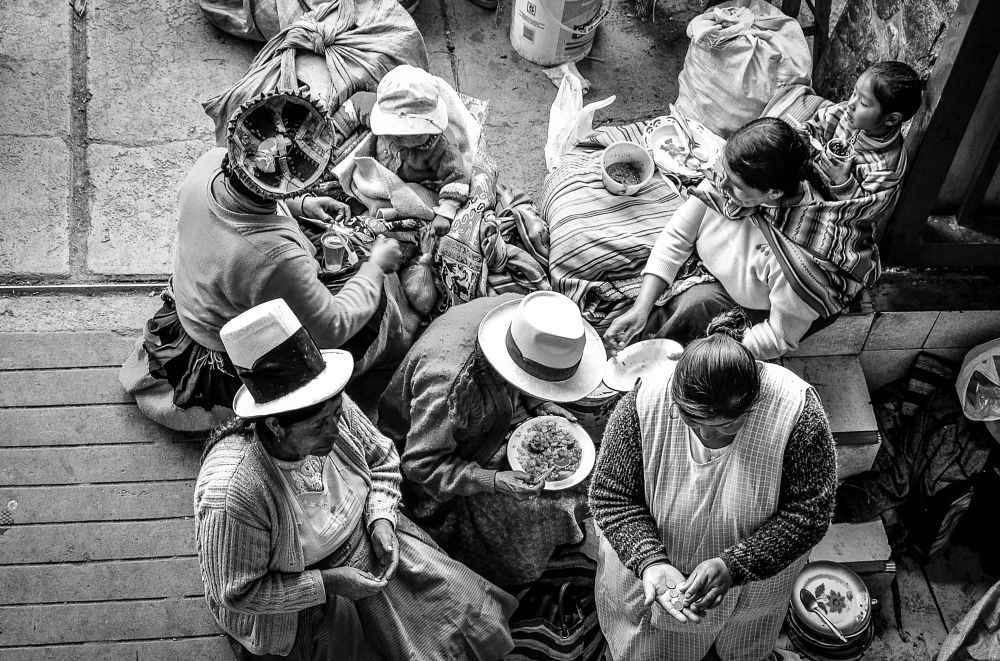 Photo in Black and White #chola #valle sagrado #inca #americalatina