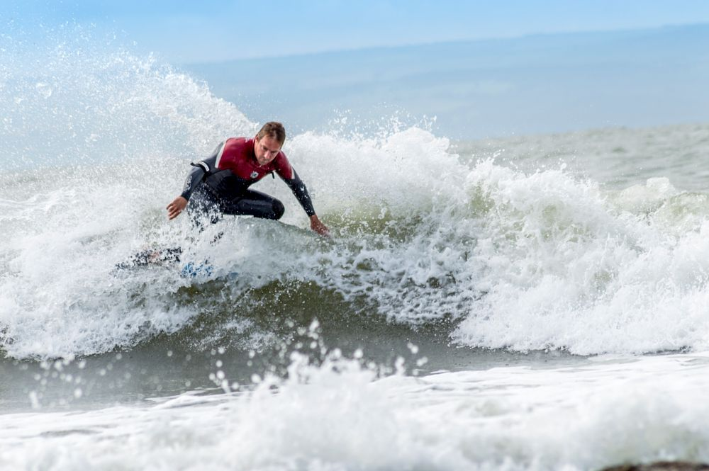 Photo in Sports #surf #surfer #surf board #body board #sport #action #sea #water #waves #coast