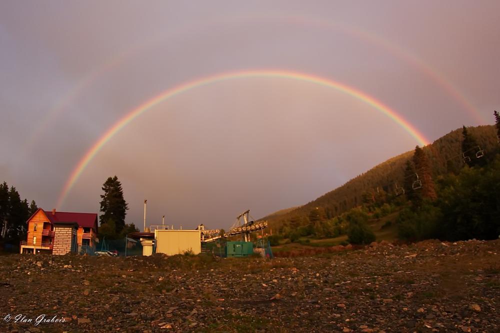Photo in Landscape #rainbow #double #landscape