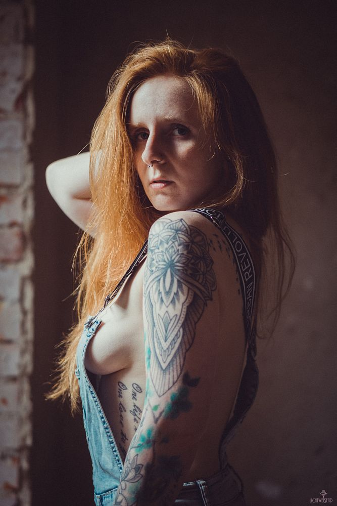 Photo in Portrait #redhaired #inked #girl