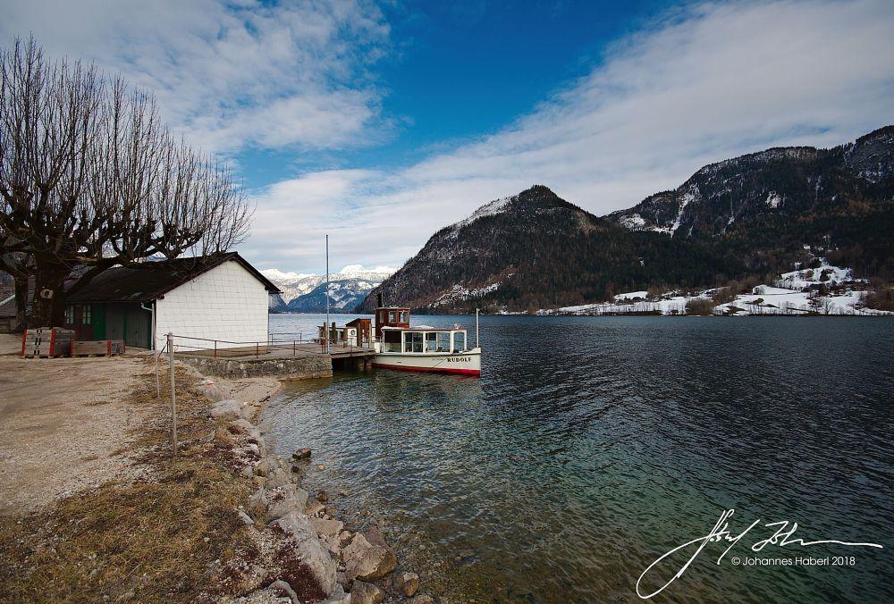 Photo in Random #ship #rudolf #grundlsee #early spring