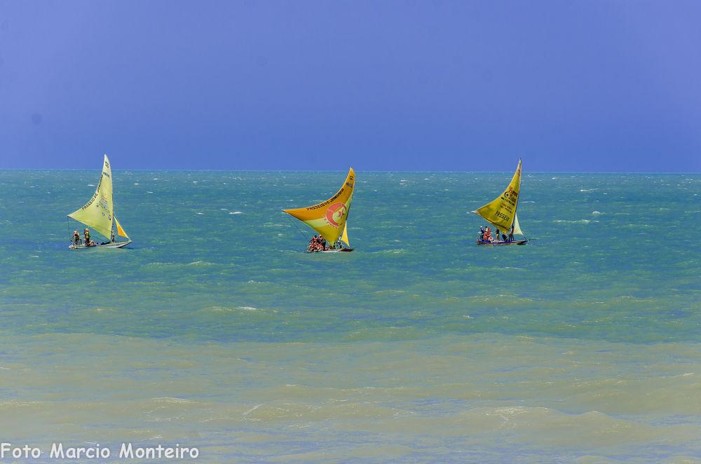 Photo in Random #beach #sea #boat #sailboat