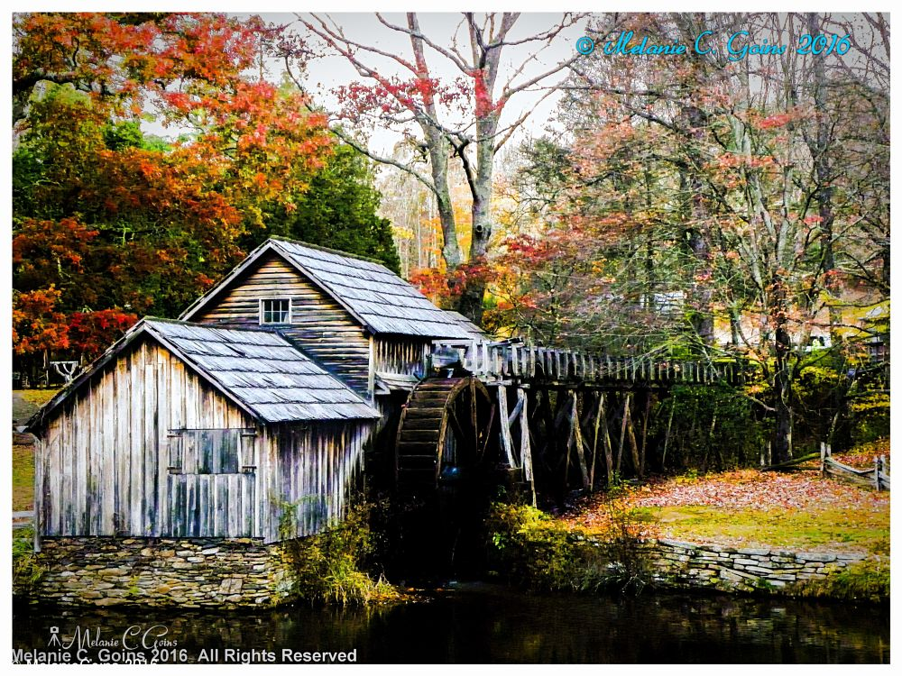 Photo in Architecture #mill #blue ridge parkway #blacksmith #pumpkin carving