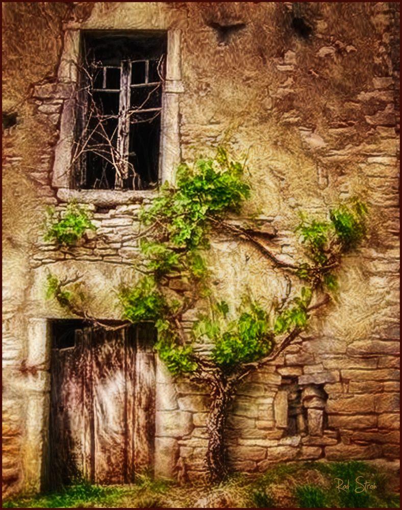 Photo in Fine Art #france #old building #avingnon