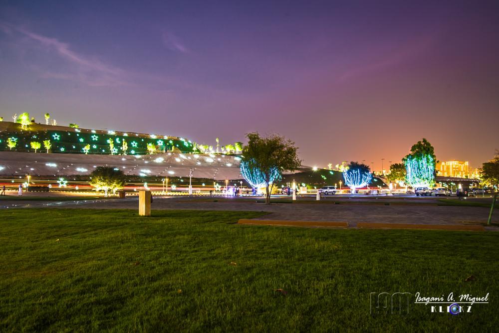 Photo in Landscape #katara #doha #cultural center #landscape #night photography