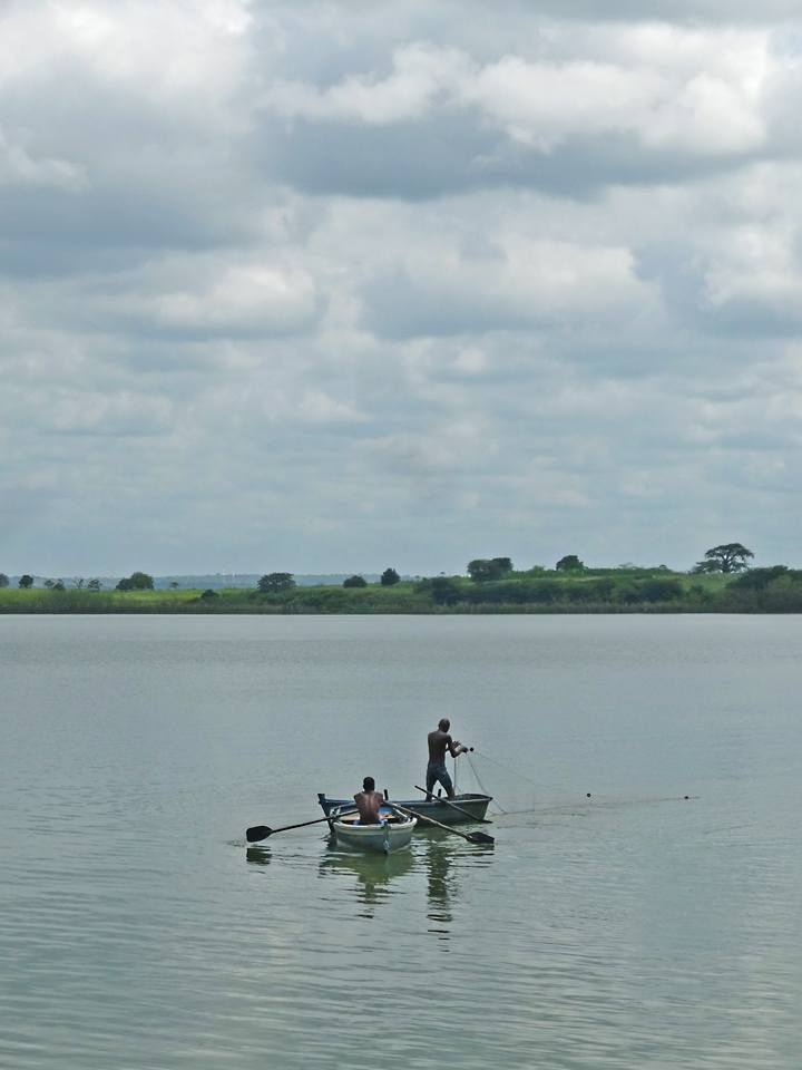 Photo in People #fisherman #lagoon #whater #africa