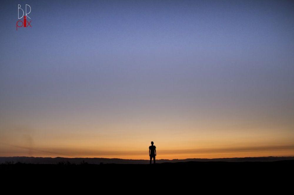 Photo in Landscape #landscape #human #sunset #sunrise #social #lonely #sad