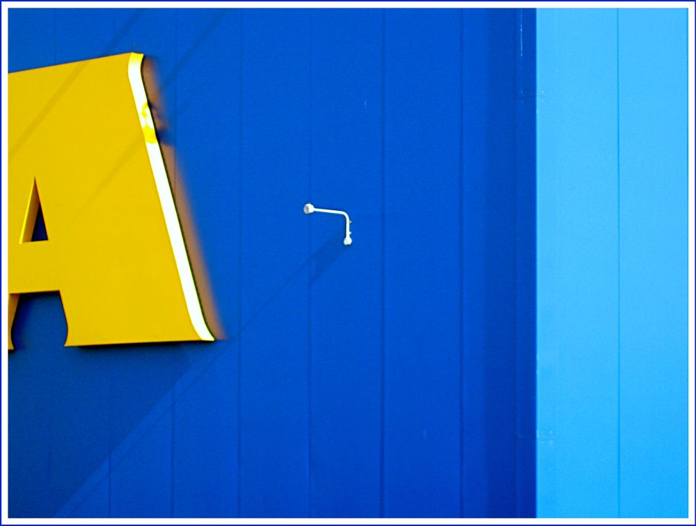 Photo in Abstract #ikea #store facade #belfast