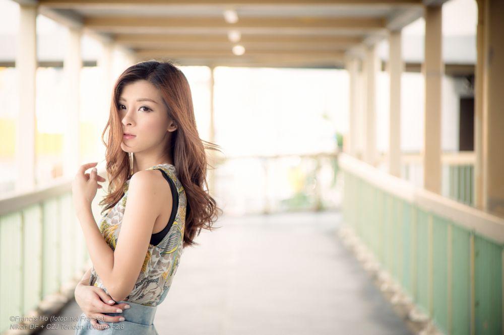 Photo in Portrait #girl #female #woman #people #portrait #beauty #pretty #face #eyes #lips #hair #chinese #model #elegant #glamour #sensuality #czj #tevidon #fion