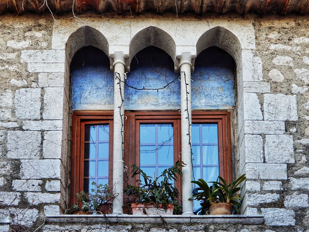 Photo in Street Photography #architecture #vintage #urban #street photography #window #gothic style
