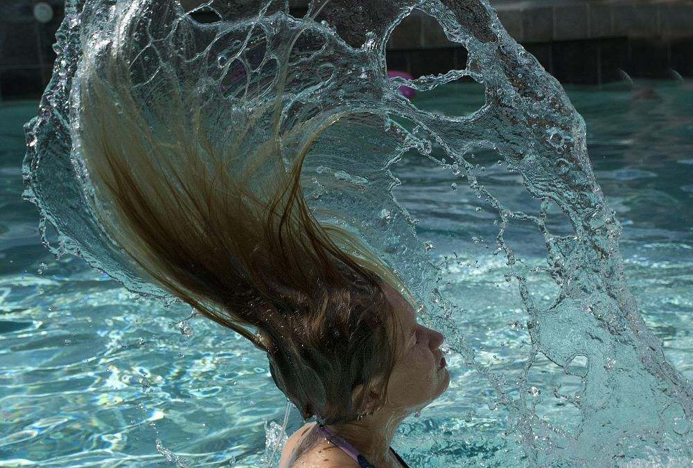 Photo in Family #girl #water #swimming #pool