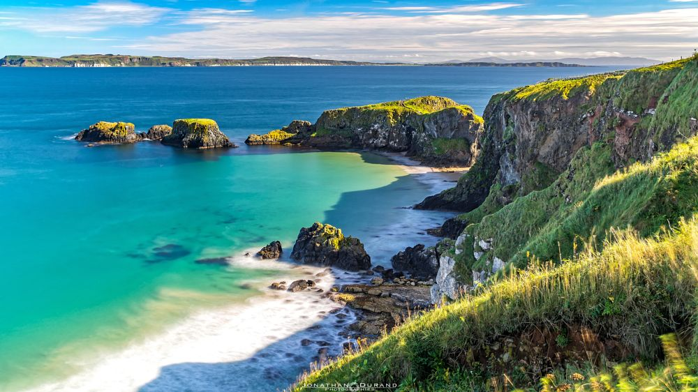 Photo in Landscape #carrick #beach #blue #ireland #north #landscape