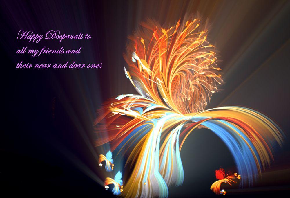 Photo in Fine Art #greetings #deepavali #prayer #equation of curvature #vertex shader