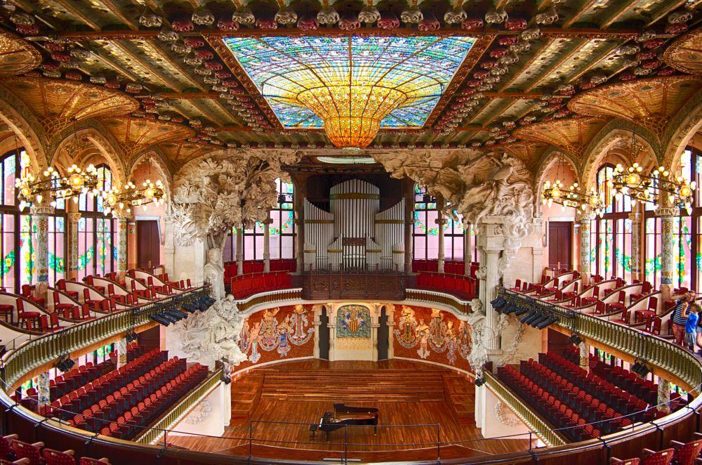 Photo in Architecture #palau de la musica #barcelona
