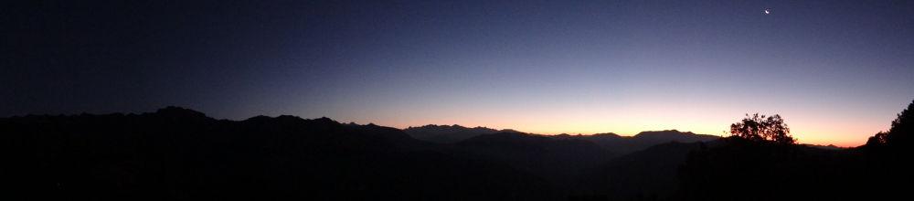 Photo in Landscape #panorima #sky #sunrise