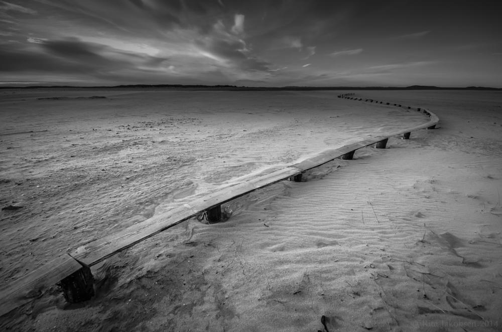 Photo in Landscape #salt #october #beach